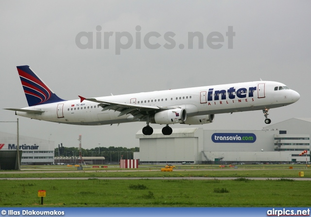 TC-IEH, Airbus A321-200, Inter Airlines
