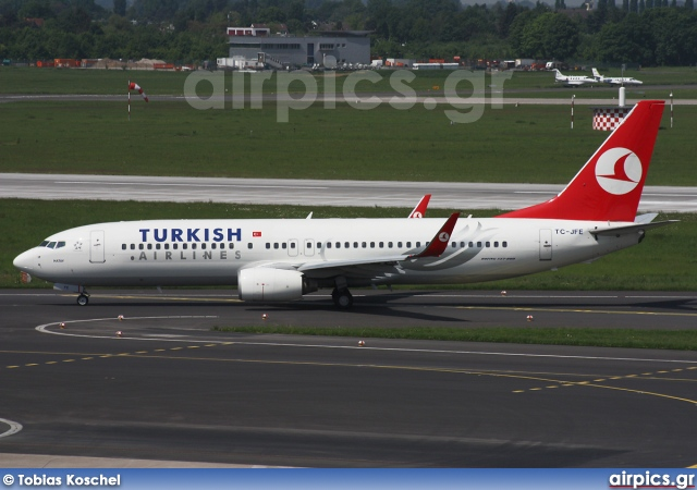TC-JFE, Boeing 737-800, Turkish Airlines