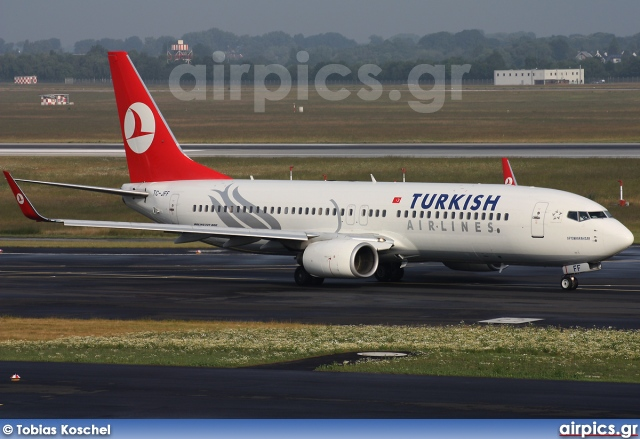 TC-JFF, Boeing 737-800, Turkish Airlines