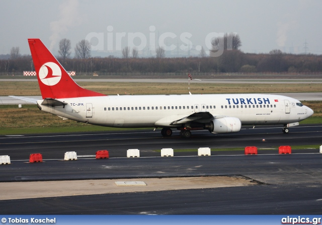 TC-JFK, Boeing 737-800, Turkish Airlines