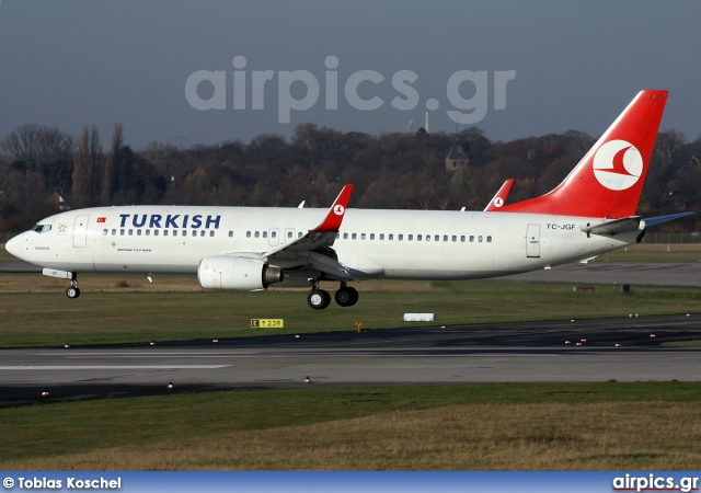 TC-JGF, Boeing 737-800, Turkish Airlines