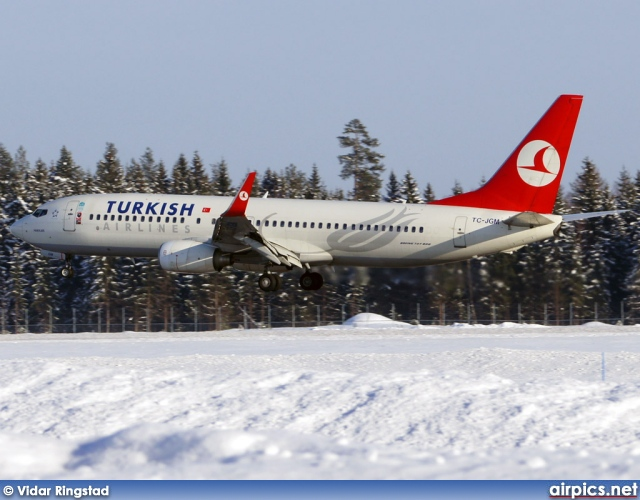 TC-JGM, Boeing 737-800, Turkish Airlines