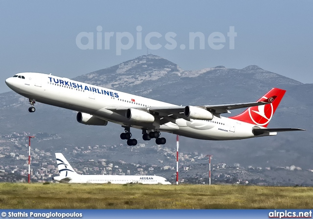TC-JII, Airbus A340-300, Turkish Airlines