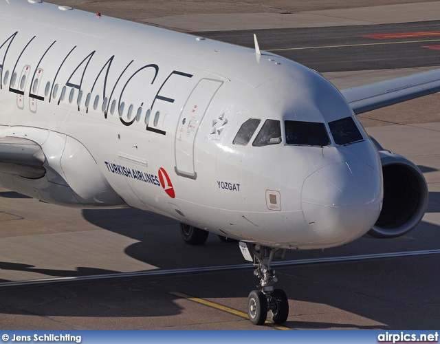 TC-JPF, Airbus A320-200, Turkish Airlines