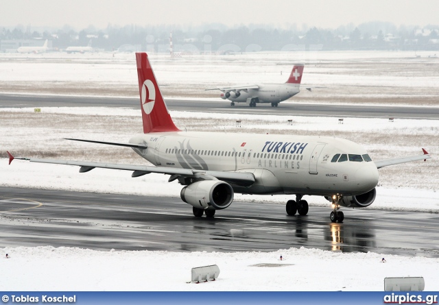 TC-JPS, Airbus A320-200, Turkish Airlines