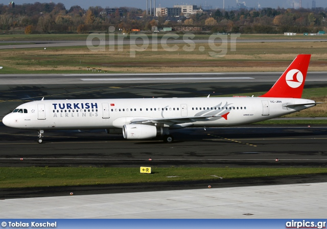 TC-JRH, Airbus A321-200, Turkish Airlines