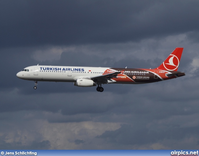 TC-JRO, Airbus A321-200, Turkish Airlines