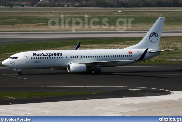 TC-SNI, Boeing 737-800, SunExpress