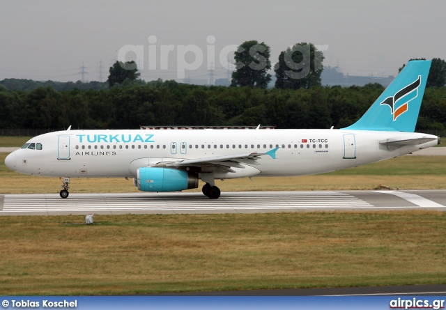 TC-TCC, Airbus A320-200, Turkuaz Airlines