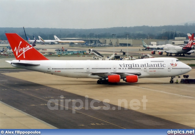 TF-ABA, Boeing 747-200, Virgin Atlantic
