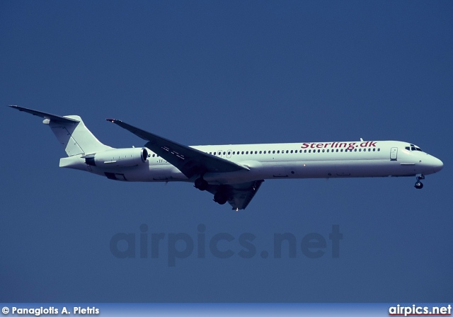 TF-JXB, McDonnell Douglas MD-82, Sterling Airlines