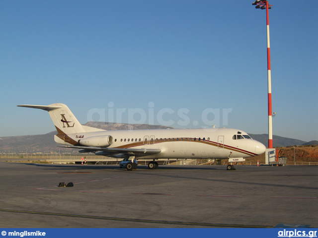 TJ-ALG, Fokker F28-4000 Fellowship, Private