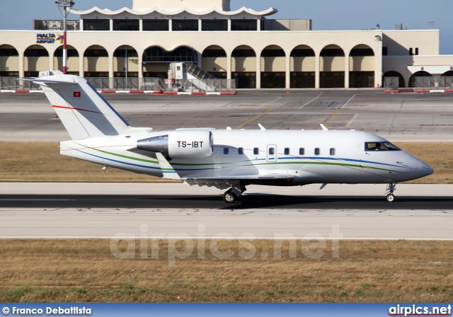 TS-IBT, Bombardier Challenger 600-CL-604, Private