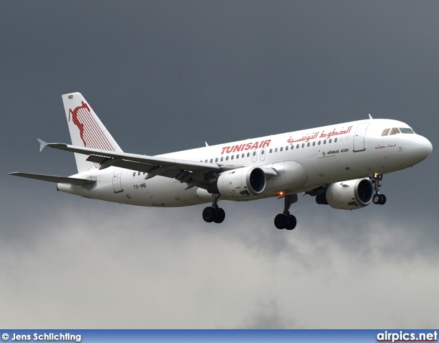 TS-IMB, Airbus A320-200, Tunis Air