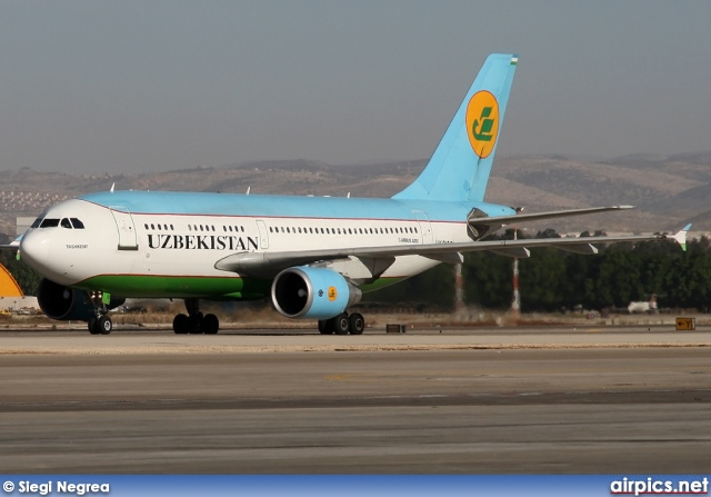 UK-31001, Airbus A310-300, Uzbekistan Airways
