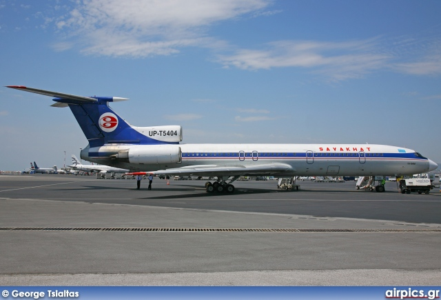UP-T5404, Tupolev Tu-154M, Sayakhat Airlines