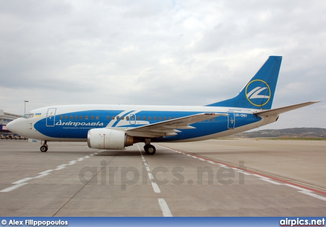 UR-DNH, Boeing 737-500, Dniproavia