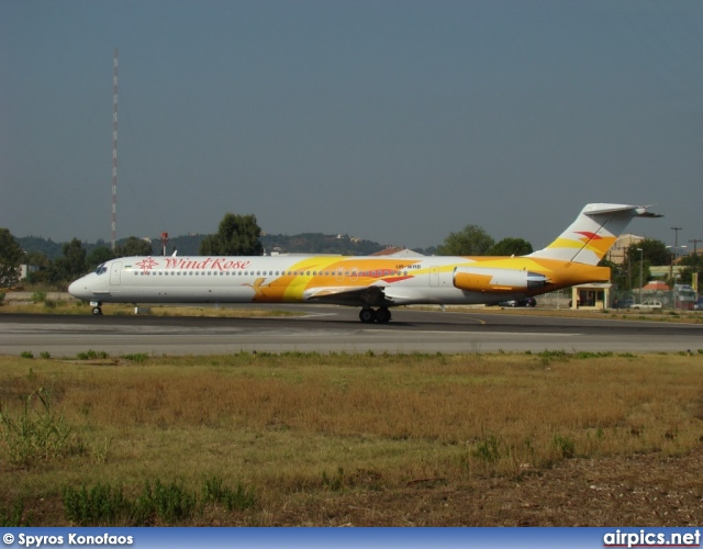 UR-WRB, McDonnell Douglas MD-83, Wind Rose Aviation
