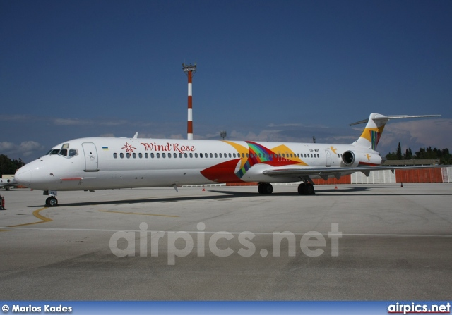 UR-WRE, McDonnell Douglas MD-82, Wind Rose Aviation