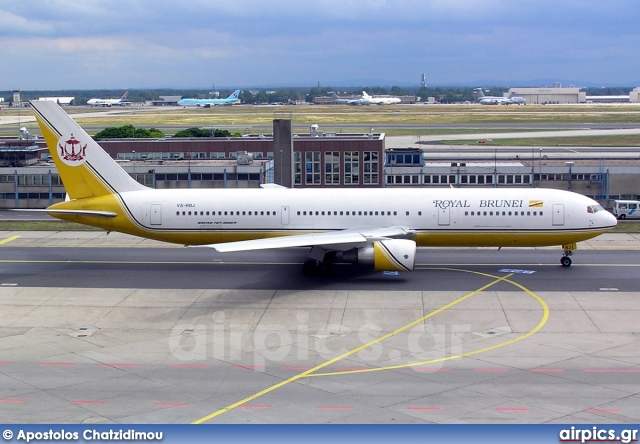V8-RBJ, Boeing 767-300ER, Royal Brunei