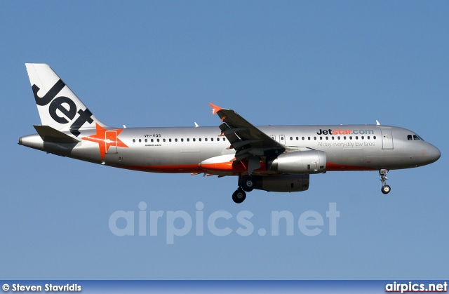 VH-VQS, Airbus A320-200, Jetstar Airways