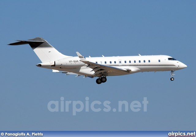 VP-BAM, Bombardier Global 5000, Private
