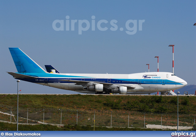 VP-BXC, Boeing 747-200B(SF), TESIS Russian Airlines