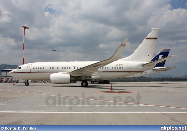 VP-BYA, Boeing 737-700/BBJ, Private
