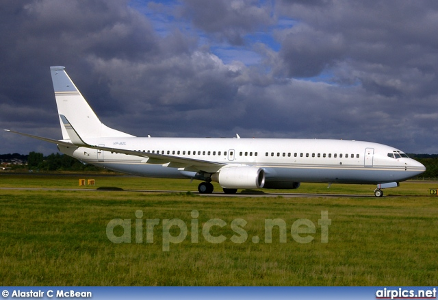 VP-BZL, Boeing 737-800/BBJ2, Private