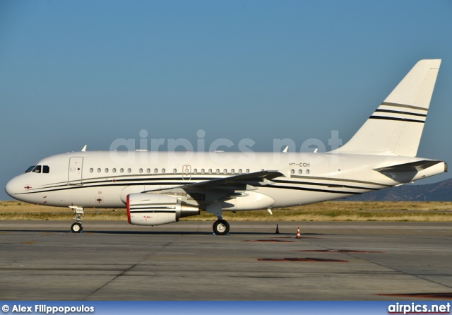 VP-CCH, Airbus A318-100CJ  Elite, Jet Aviation Business Jets
