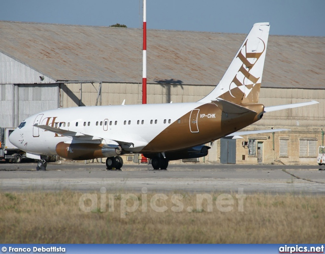 VP-CHK, Boeing 737-200Adv, Private