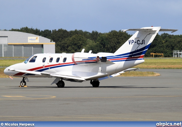 VP-CJI, Cessna 525 CitationJet CJ1, Private