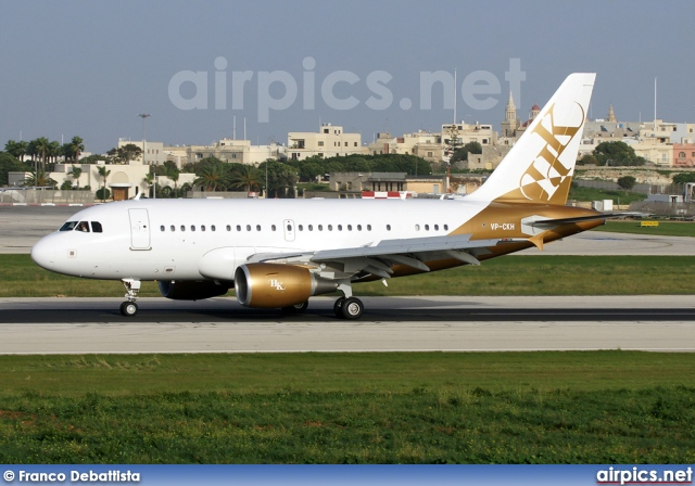 VP-CKH, Airbus A318-100CJ  Elite, Private