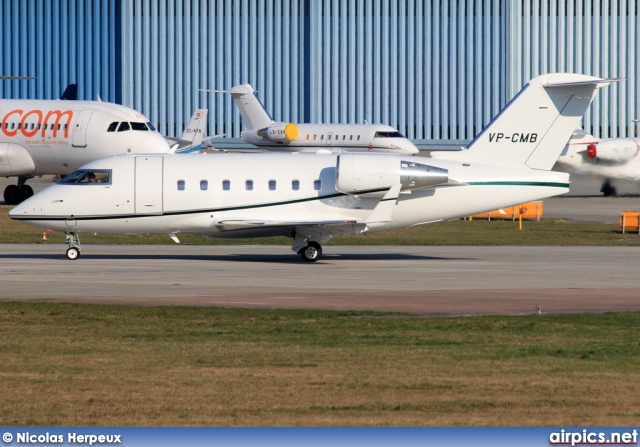 VP-CMB, Bombardier Challenger 600-CL-604, Untitled