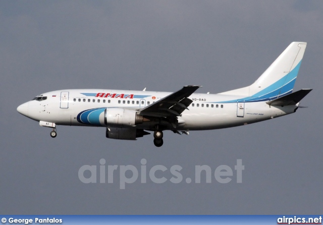 VQ-BAB, Boeing 737-500, Yamal Airlines