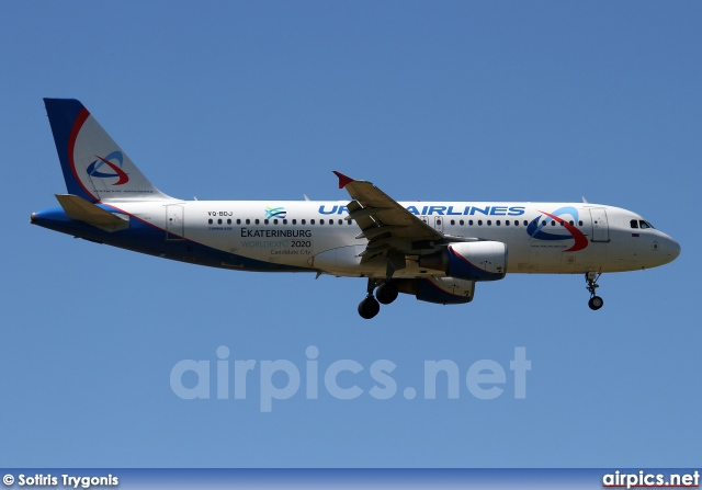 VQ-BDJ, Airbus A320-200, Ural Airlines