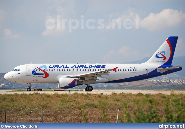 VQ-BNI, Airbus A320-200, Ural Airlines