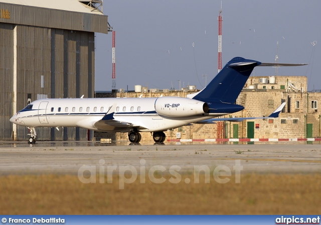 VQ-BNP, Bombardier Global Express XRS, Private