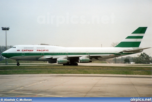 VR-HOR, Boeing 747-400, Cathay Pacific