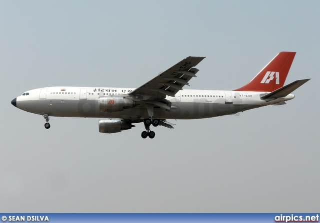 VT-EHC, Airbus A300B4-200, Indian Airlines