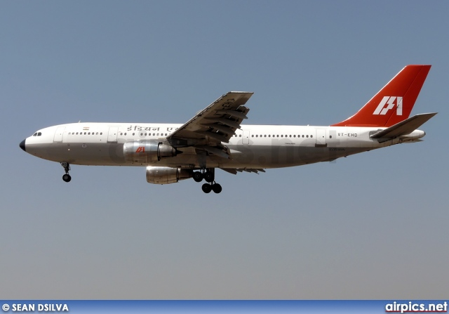 VT-EHD, Airbus A300B4-200, Indian Airlines