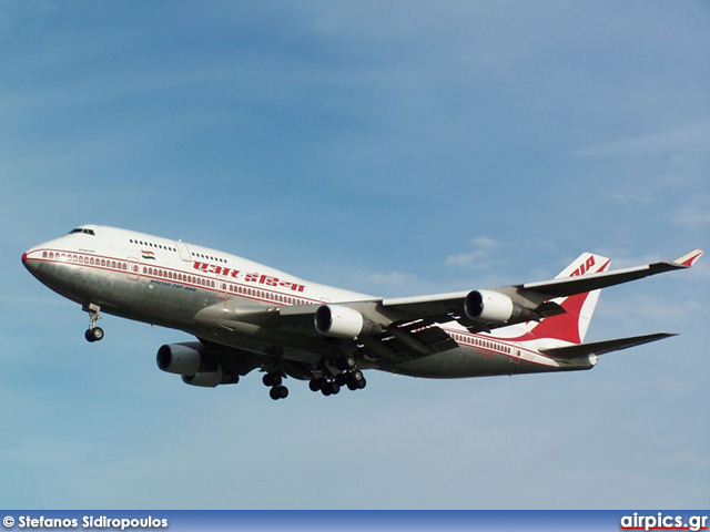VT-ESO, Boeing 747-400, Air India