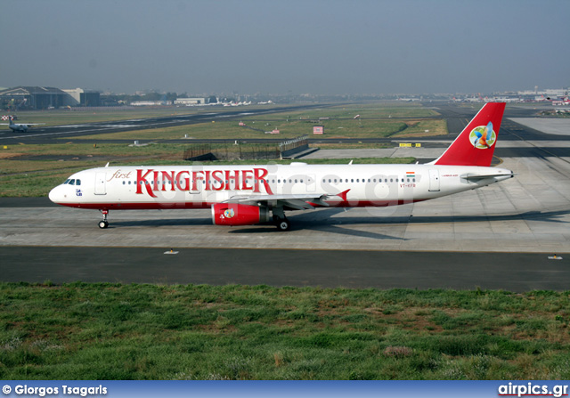 VT-KFR, Airbus A321-200, Kingfisher Airlines