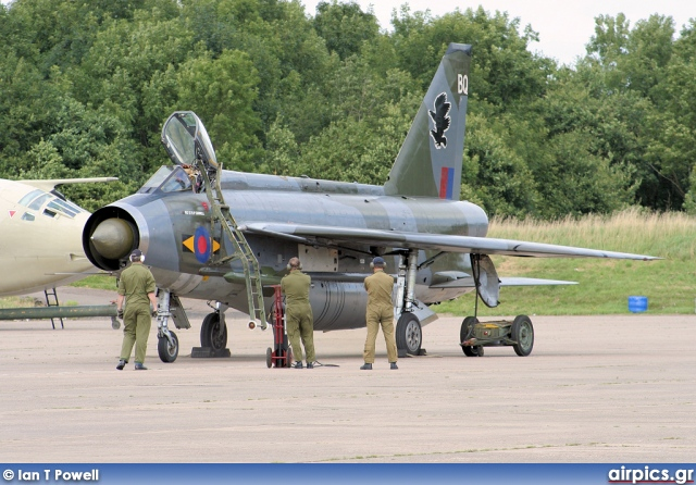 XS904, English Electric Lightning F.6, Private