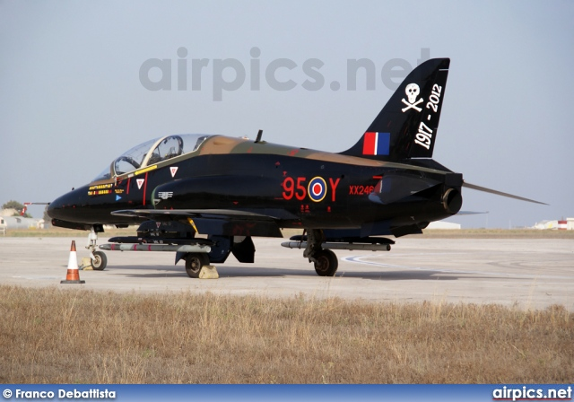 XX246, British Aerospace (Hawker Siddeley) Hawk T.1A, Royal Air Force