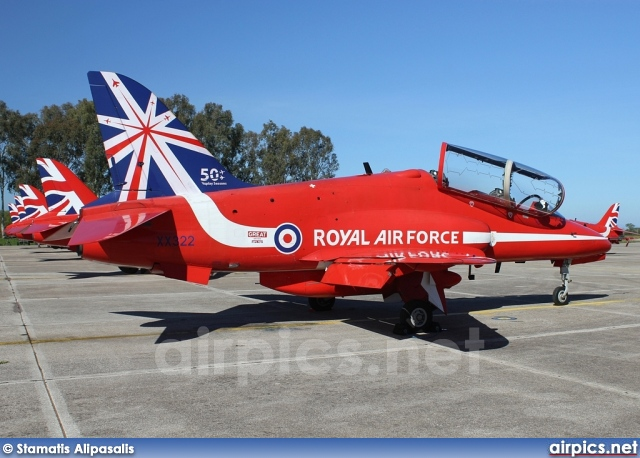 XX322, British Aerospace (Hawker Siddeley) Hawk T.1A, Royal Air Force