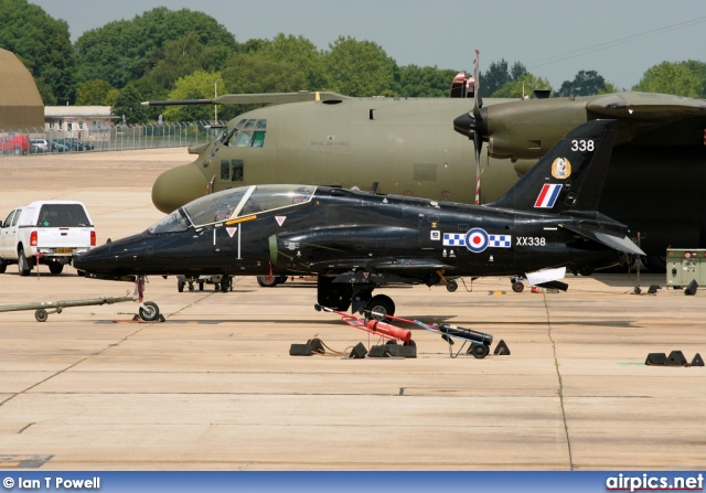 XX338, British Aerospace (Hawker Siddeley) Hawk T.1, Royal Air Force