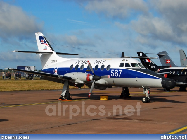 XX486, British Aerospace JetStream T.2, Royal Navy - Fleet Air Arm