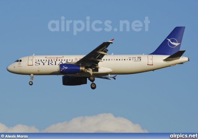 YK-AKB, Airbus A320-200, Syrian Arab Airlines
