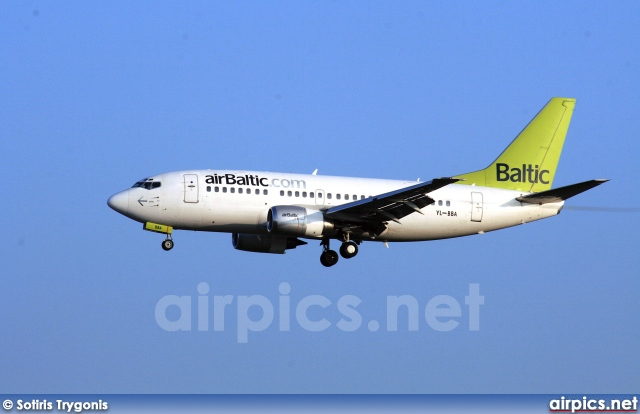 YL-BBA, Boeing 737-500, Air Baltic
